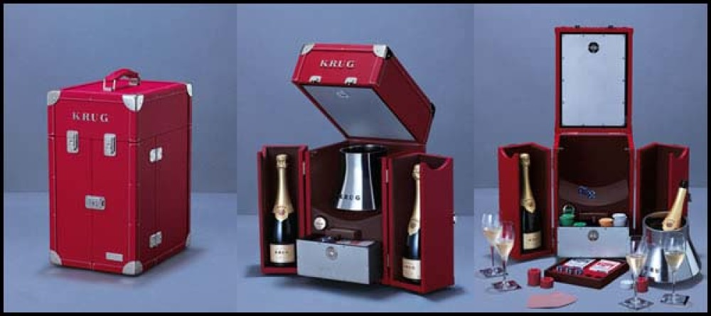 Krug Escape Artist Champagne Trunk Collection | dizajn, la vie de luxe, magazin