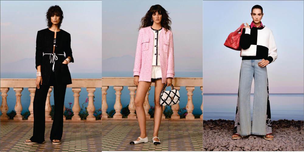 chanel resort kolekcija proleće leto 2021 balade en mediterranee | moda, la vie de luxe, magazin