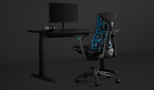 embody gaming chair, logitech, gejming nameštaj, La vie de luxe, magazin, hi end tehnologija